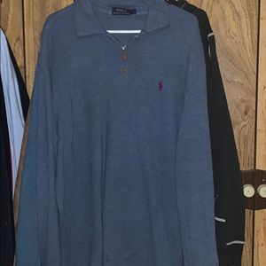 Men's polo sweater
